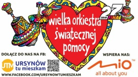 Mio gra z Wielką Orkiestrą Świątecznej Pomocy Problemy społeczne, BIZNES - Mio wspiera 27 Finał Wielkiej Orkiestry Świątecznej Pomocy na Warszawskim Ursynowie. 27. Finał Wielkiej Orkiestry Świątecznej Pomocy odbędzie się 13 stycznia 2019 roku. Jego celem będzie zakup nowoczesnego sprzętu medycznego dla specjalistycznych szpitali dziecięcych.