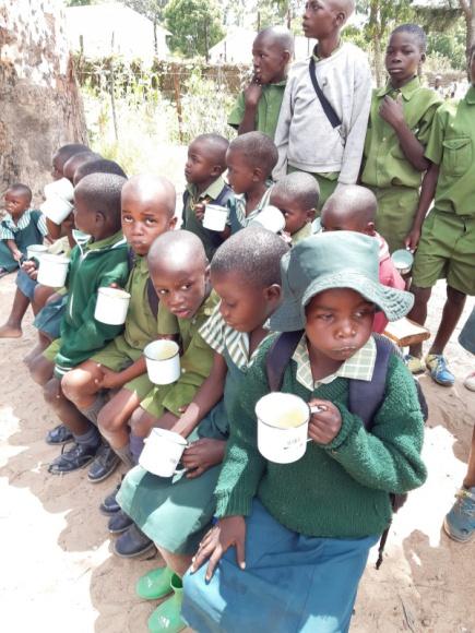Stowarzyszenie SOS Wioski Dziecięce rozpoczyna pomoc dzieciom w Zimbabwe Problemy społeczne, BIZNES - Program dożywiania obejmuje 999 dzieci z okolic rezerwatu w Imire.